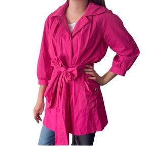Apostrophe pink pomegranate sight a lune trench